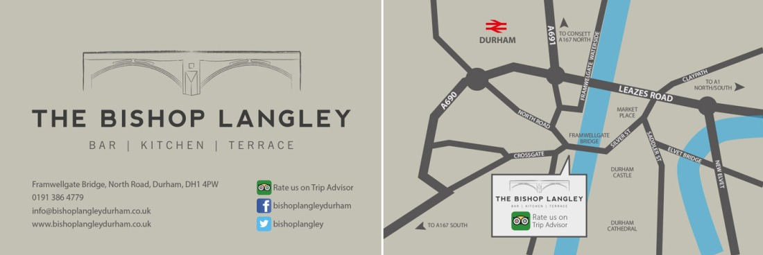 Bishop Langley Business Card Design
