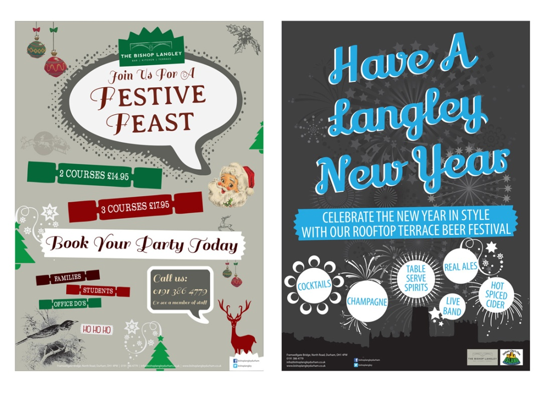 Christmas and New Year Promotional Material