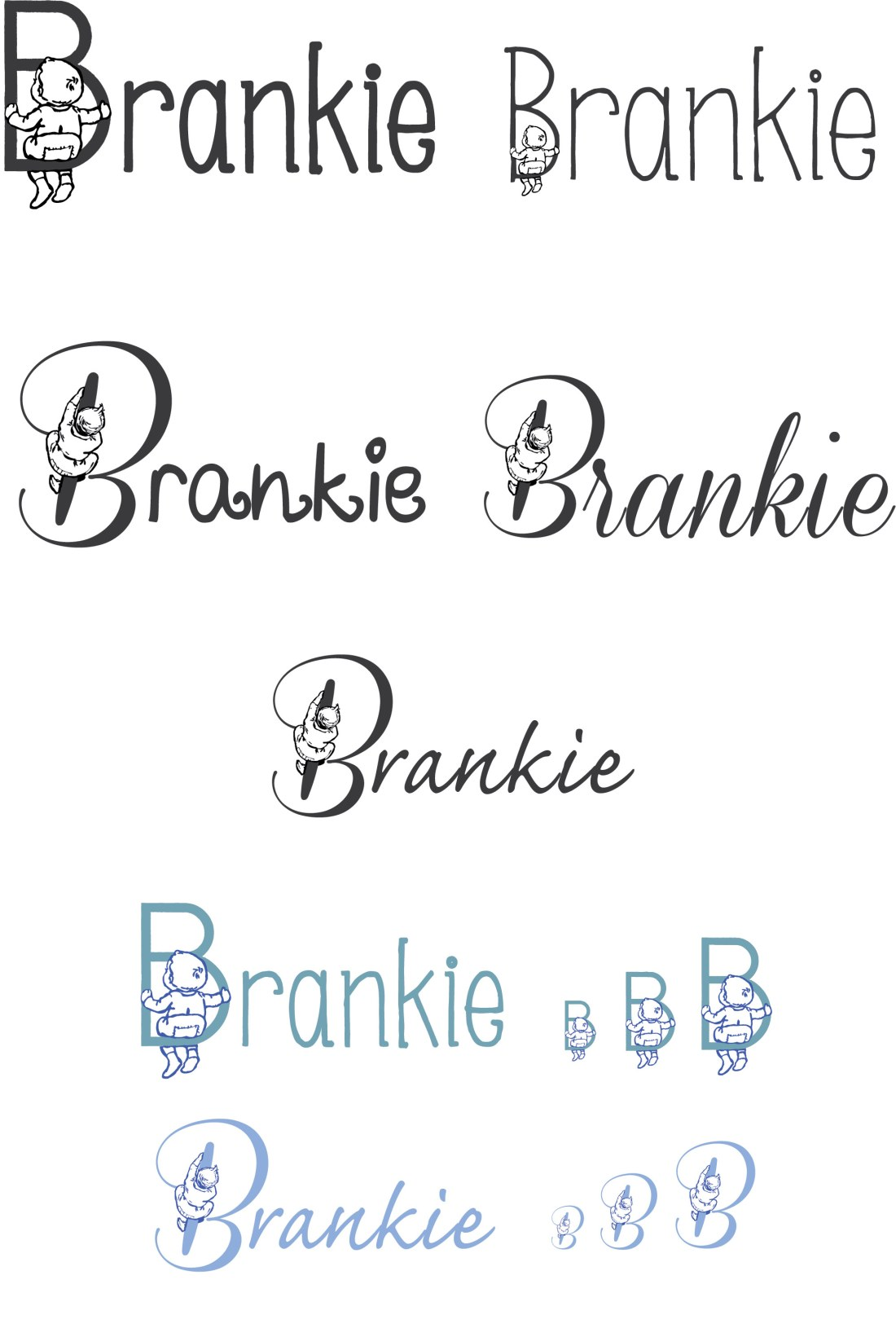 Brankie Logo design Ideas & Development