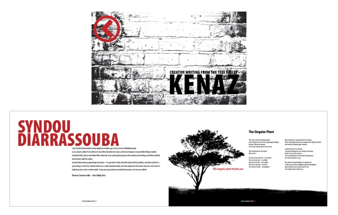 Kenaz Magazine - Branding, Logo Design and Art Direction of Magazine - Issue 1