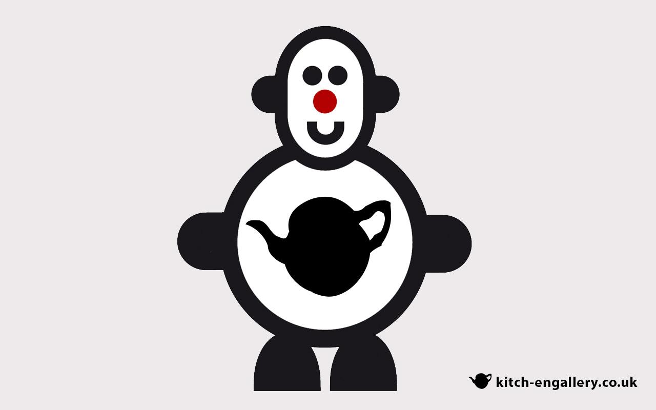 Mr Smileyman Kitch-en Gallery Desktop Wallpaper