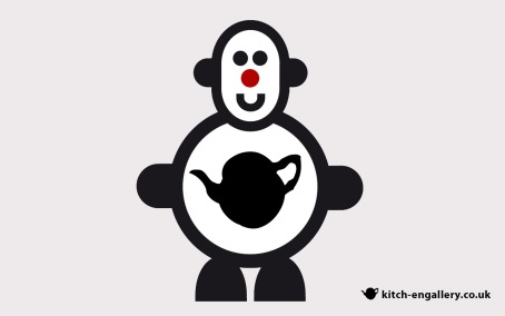 Mr Smileyman Kitch-en Gallery Desktop Wallpaper