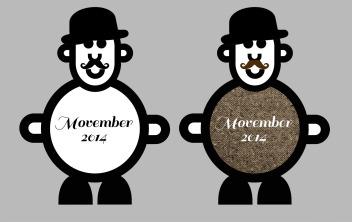 Mr Smileymasn Supporting Movember Illlustration