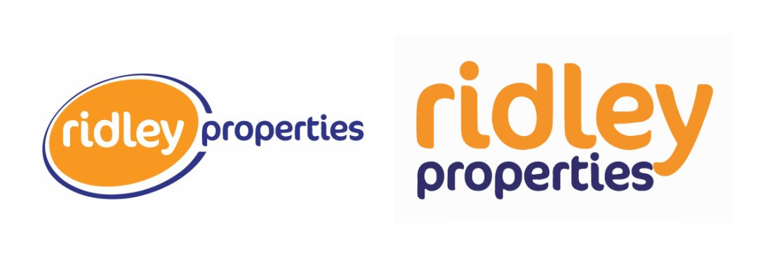 Ridley Properties Old vs New Logo Redesign