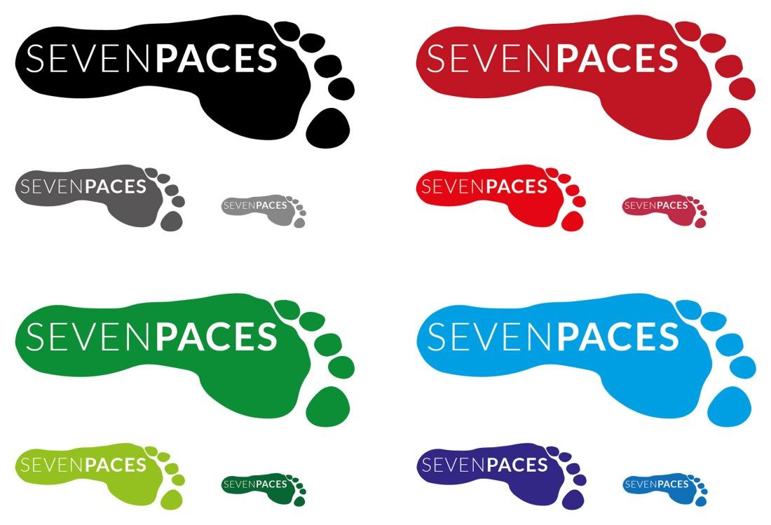 Seven Paces Logo Development