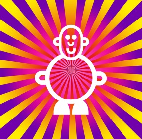 Mr Smileyman Sunrise Psychedelic Illustration