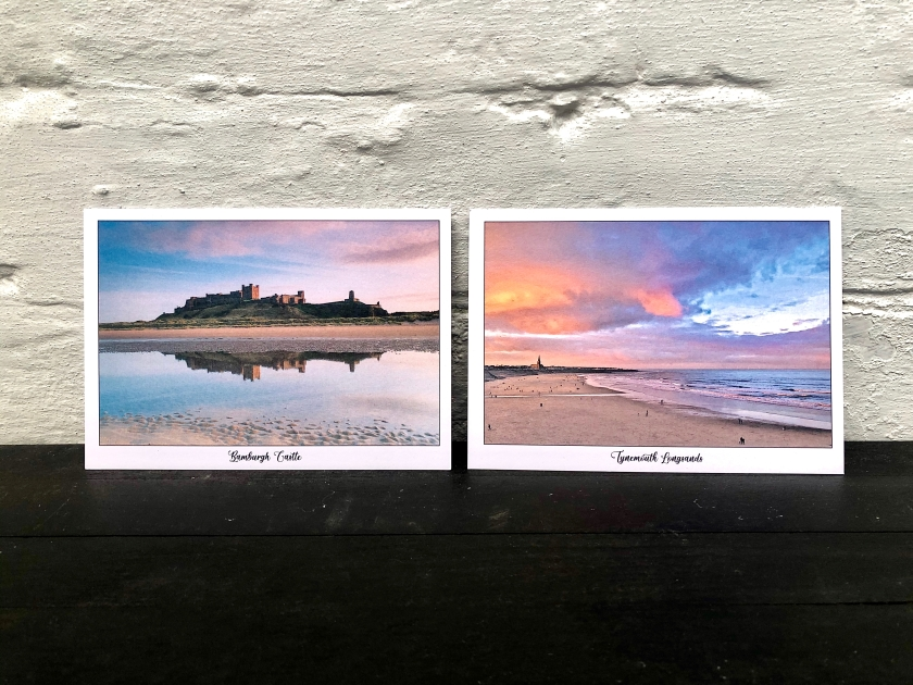 Environmentally friendly wedding stationary. Bamburgh, Northumberland and Tynemouth, North Tyneside